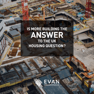 Is more building the answer to the UK housing question?